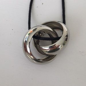 Jewelry - Silver Bangle Necklace